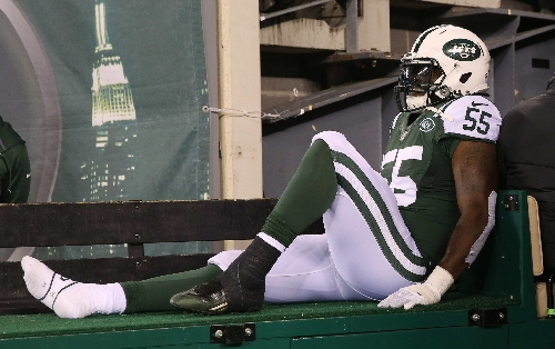 Jets down 3 starters for 49ers game | Final injury report