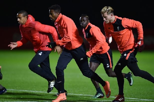 Liverpool FC training gallery - Reds prepare for West Ham at Melwood