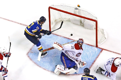 Needs more goals: The Blues through first 25 games of season.