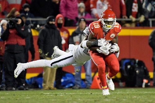 Jeremy Maclin quiet in return but happy Chiefs reclaimed first place