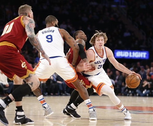 The Cleveland Cavaliers make a statement (or two) in New York -- Bud Shaw's Spinoffs
