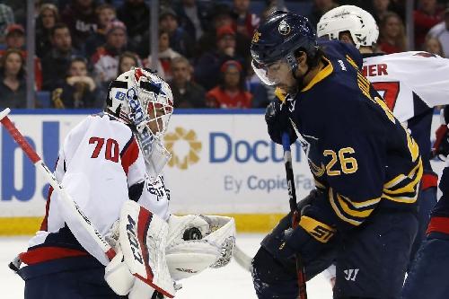Capitals vs. Sabres: Game 26 of 82