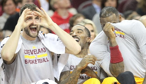 J.R. Smith won't play against Miami; Kevin Love game-time decision