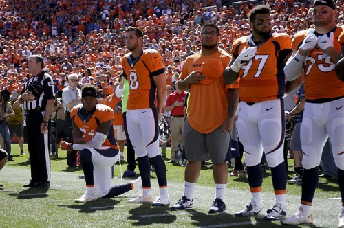 Broncos' Brandon Marshall shares racist letter he received The Associated Press
