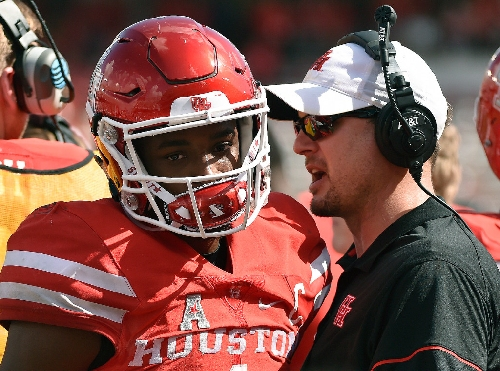 Houston promoting Major Applewhite keeps Texas clear of awkward scenario under new coach Tom Herman