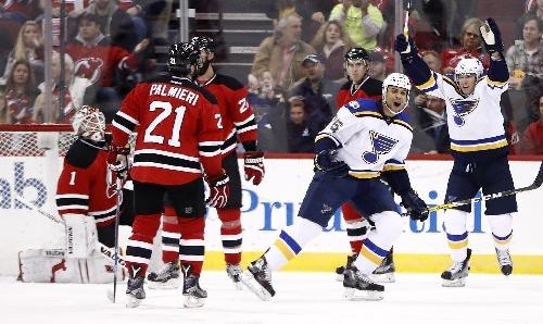 Fabbri, Tarasenko lead Blues over Devils 4-1 The Associated Press