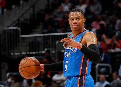 Westbrook's seventh straight triple-double not enough for Thunder