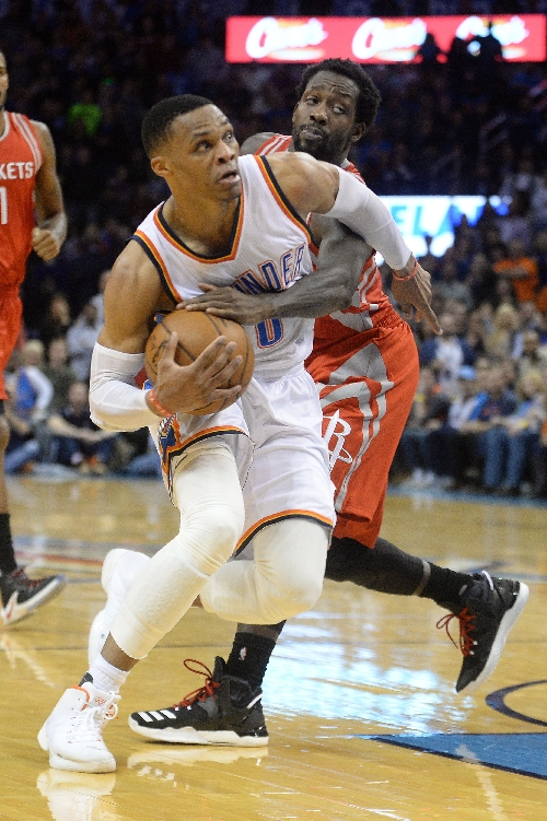 Not enough: Thunder lose despite Westbrook's seventh straight triple-double