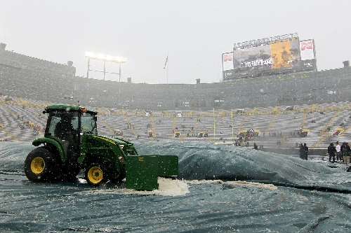 Seahawks headed into snow, winds, harsh conditions in Green Bay
