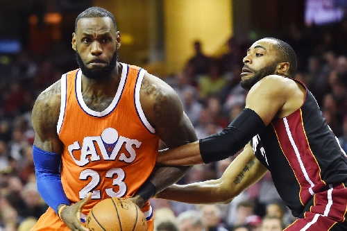 LeBron James is now ninth on the NBA's all-time scoring list