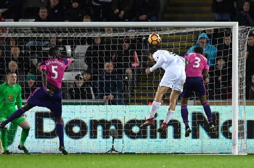 Swansea City 3-0 Sunderland report: Black Cats lose relegation duel at the Liberty Stadium