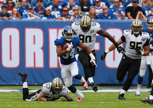 Giants add RB Shane Vereen to active roster for Cowboys game