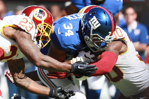 Giants' roster moves: Shane Vereen activated, Adam Gettis waived