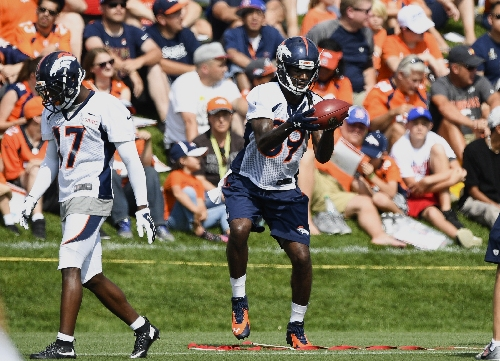 Broncos promote LB Quentin Gause to active roster; Marlon Brown to IR