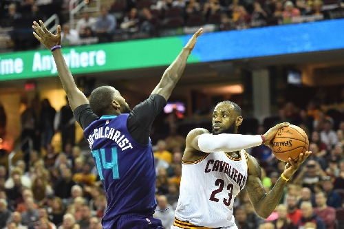 Hornets look for fourth straight win against Cavaliers
