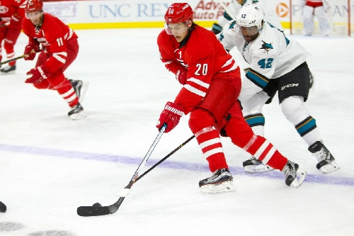 Lines and Rosters: Hurricanes at Sharks
