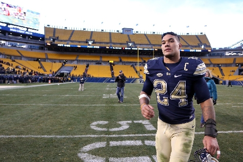 Pittsburgh RB and cancer survivor James Conner announces he will enter 2017 NFL Draft