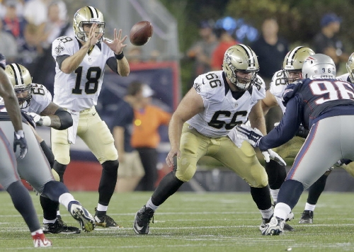 New Orleans Saints promote center Jack Allen from practice squad