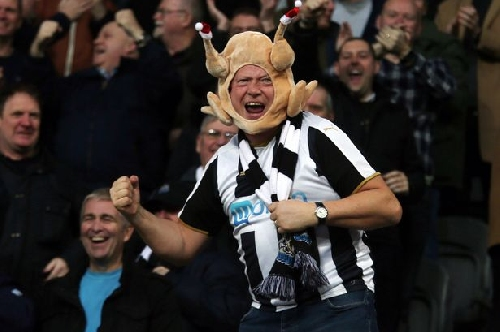 Newcastle 4-0 Birmingham fan pictures: Gayle hat-trick sends Toon Army home happy