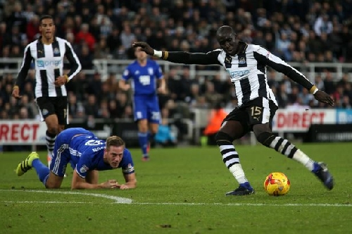 Newcastle United 4-0 Birmingham City: Livewire Mohammed Diame inspires Magpies victory