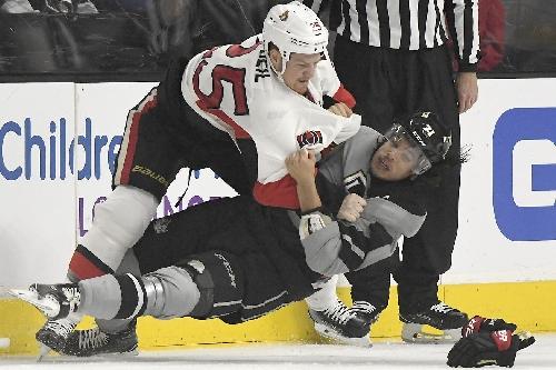 Senators Fall 4-1 to Kings in Chris Neil's 1000th Game