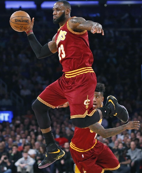 James moves into 9th on scoring list as Cavs top Heat 114-84 The Associated Press