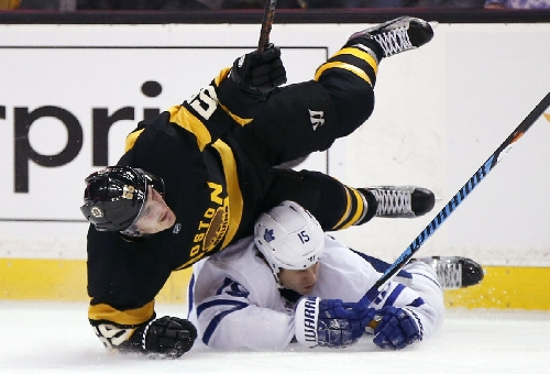 Andersen stays perfect against Boston as Leafs beat Bruins