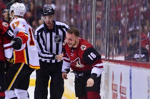 Max Domi injury latest to sting Arizona Coyotes