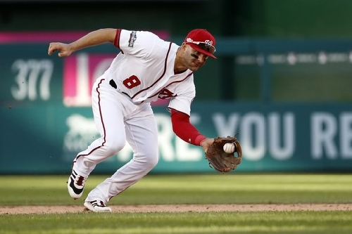 Angels acquire shortstop Espinosa in trade with Nationals The Associated Press