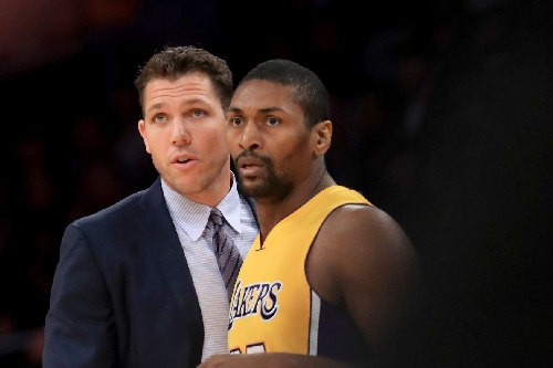 Metta World Peace thinks Luke Walton is going to be a Hall of Fame coach