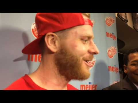 Red Wings' Steve Ott: 'The Joe was rocking tonight'