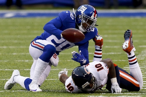 Giants Injury News: Janoris Jenkins (back) exits game, return questionable