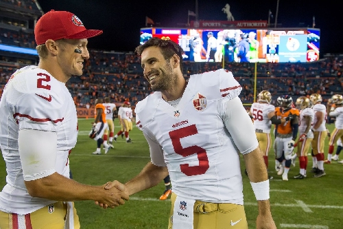 Chip Kelly explained why Christian Ponder was active over Blaine Gabbert