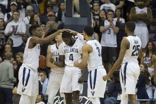 College basketball rankings, week 7: Villanova maintains #1 for third consecutive week.