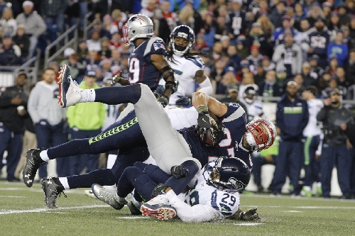 Patriots on fire since Earl Thomas destroyed Rob Gronkowski
