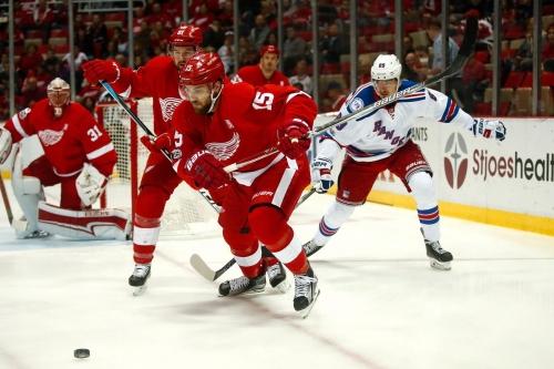 Red Wings vs Rangers: Rank 'EM!
