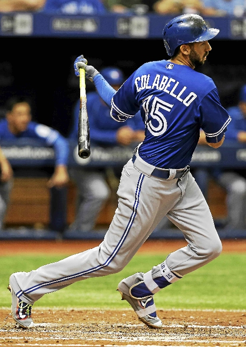 Cleveland Indians sign former Blue Jay Colabello to minor-league contract