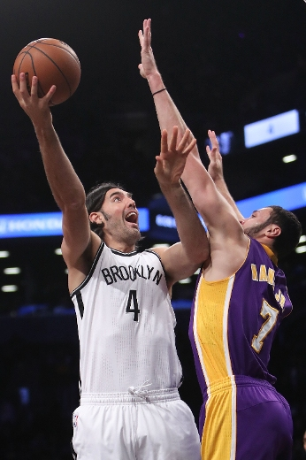 Nets' Scola left his mark on the Raptors