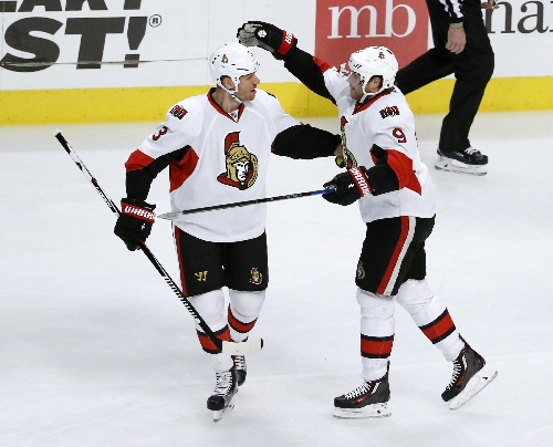 Senators beat Blackhawks 4-3 for 3rd straight win The Associated Press