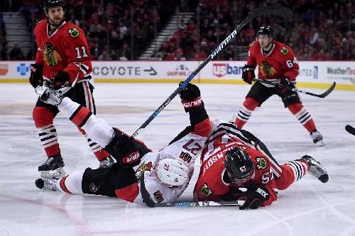 Ottawa Senators hold on for 4-3 victory over Chicago Blackhawks