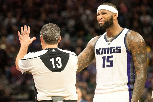 Video: Cousins Ejected, Un-Ejected In Kings' 126-121 Win Over Blazers