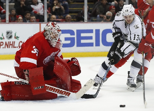Red Wings put Jimmy Howard on 7-day IR, recall Jared Coreau The Associated Press