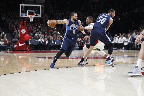 Game photos: Portland Trail Blazers vs. Dallas Mavericks