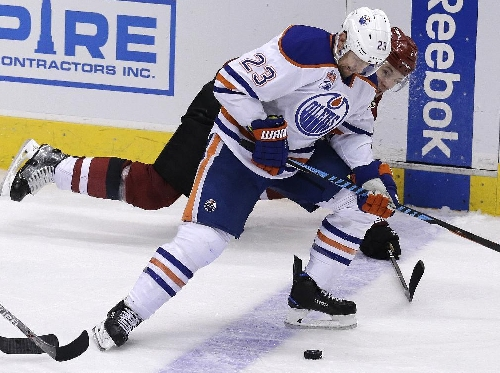 Oilers end 25-game losing streak to Coyotes with 3-2 win The Associated Press