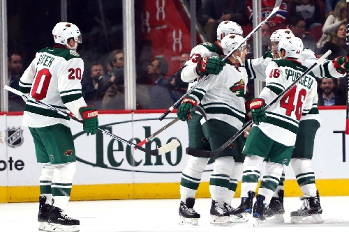 The Wild Extend Their Win Streak to Nine Games Over the Canadiens