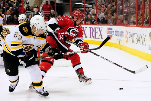 Bruins vs. Canes Projected Lines