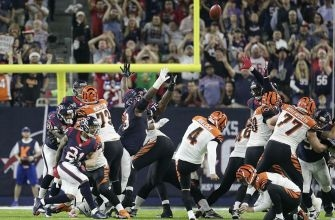 Houston Texans Clinch AFC South on Randy Bullock Missed Field Goal (Video)
