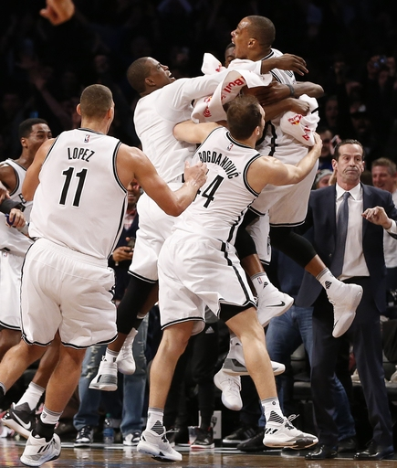 Randy Foye's 3 gives Nets 120-118 victory over Hornets The Associated Press
