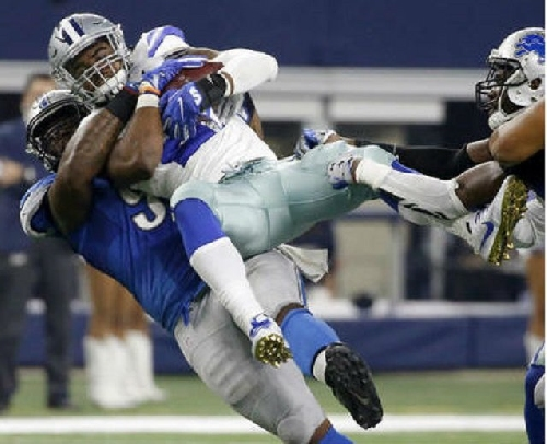 Ezekiel Elliott says A'Shawn Robinson 'was being dirty all game long'