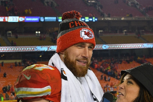 Travis Kelce and Jeremy Maclin were mic'd up for that big touchdown catch